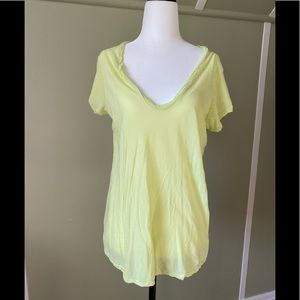 James Perse Lime Green T Shirt